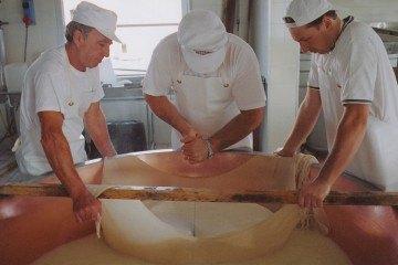 Parmesan Herstellung