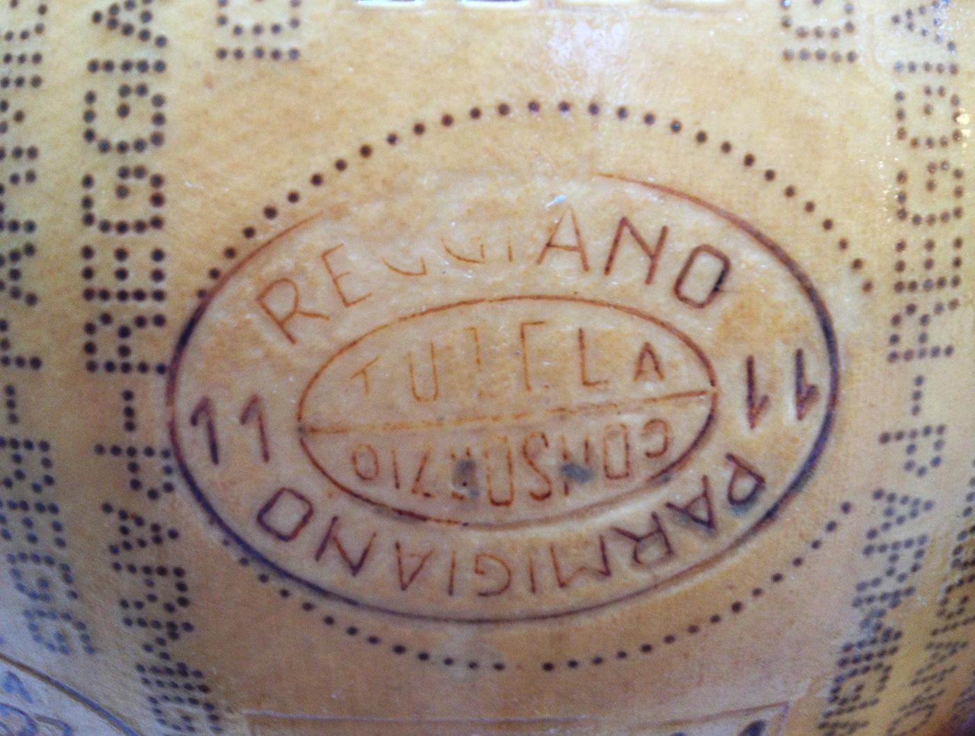 Parmesan geschützte Marke