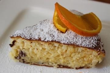 Orangen Reis Kuchen